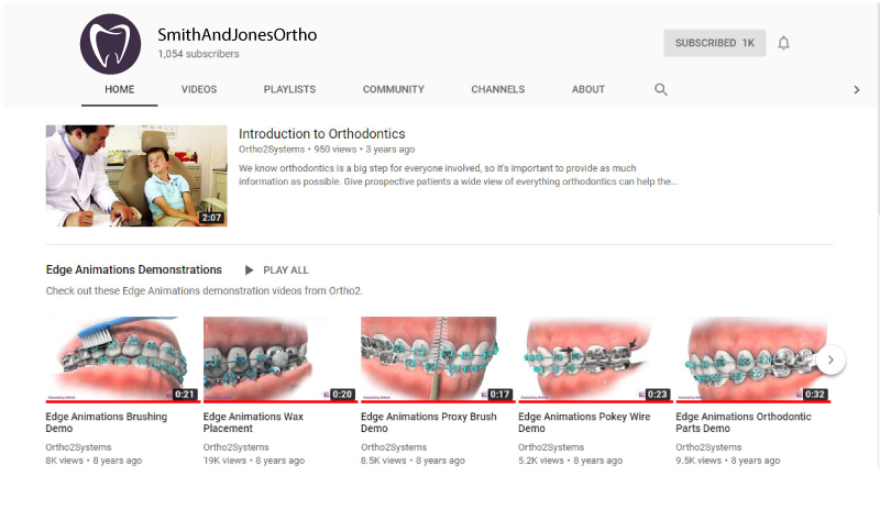 Marketable videos for your pediatric dental and orthodontic patients.